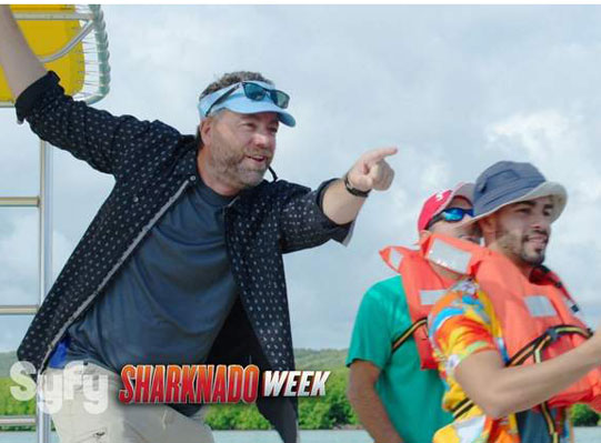 Iowa Gubernatiorial Hopeful to Make Splash on Sharknado Week