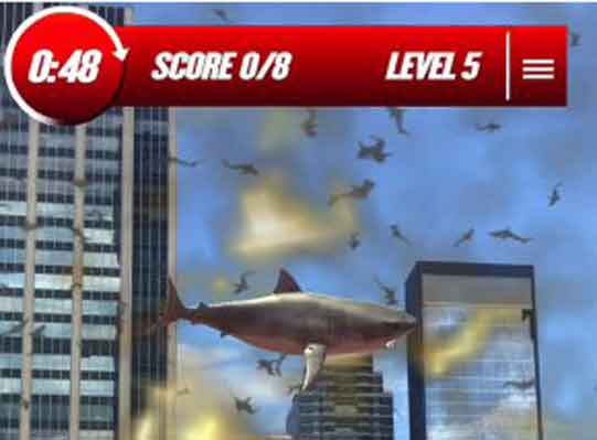 'Sharknado' Augmented Reality Mobile Game Debuts