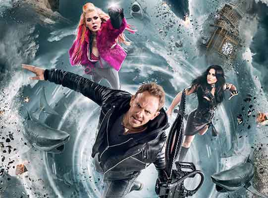 Sharknado 5: Global Swarming's Key Art Is Finally Here: Get Your First Look!