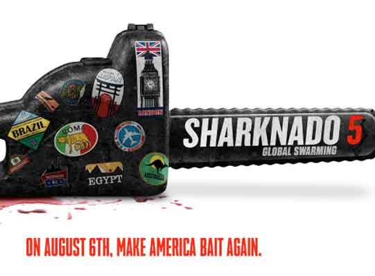 Sharknado 5 Title Announced, Global Swarming Celebrity Cameos Revealed