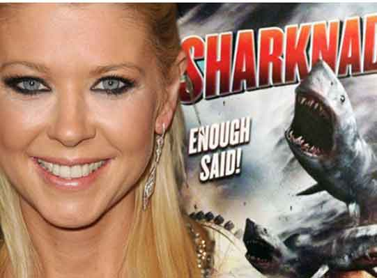 Interview with the 'Sharknado' Series' Baddest Momma - Tara Reid
