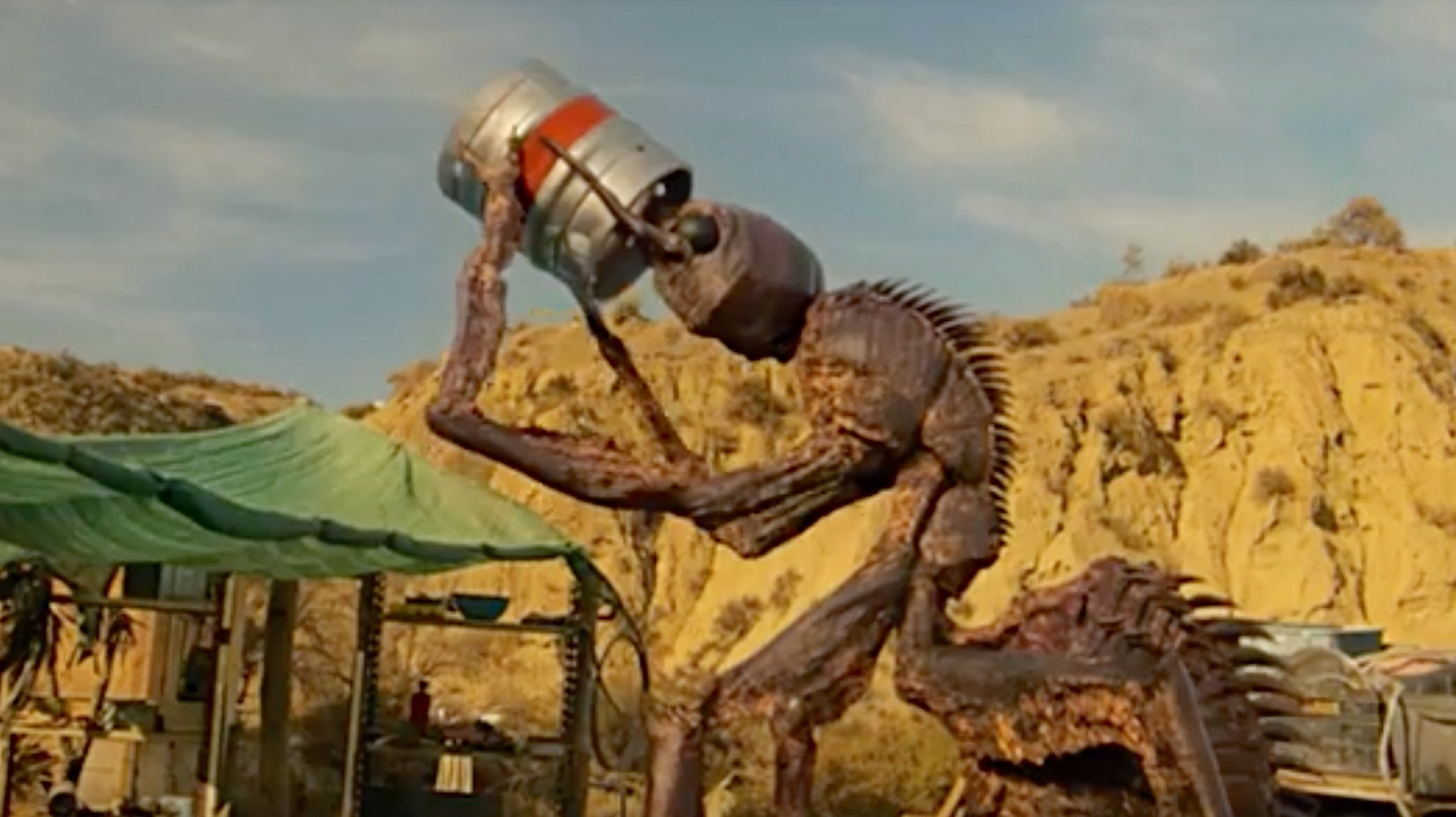 http://www.syfy.com/syfywire/beer-loving-giant-ants-terrorize-teens-in-trailer-for-it-came-from-the-desert