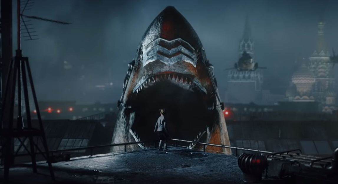 New SKY SHARKS Trailer Shows off Impressive Visual FX