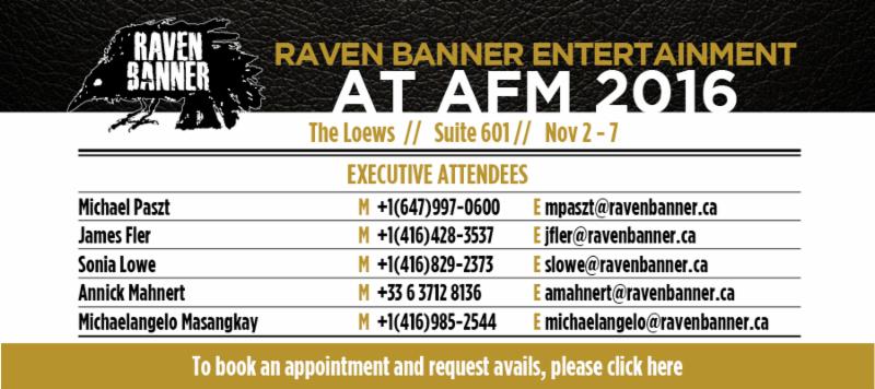 RAVEN BANNER at AFM 2016